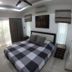 Master bed at Bangsaray garden villa